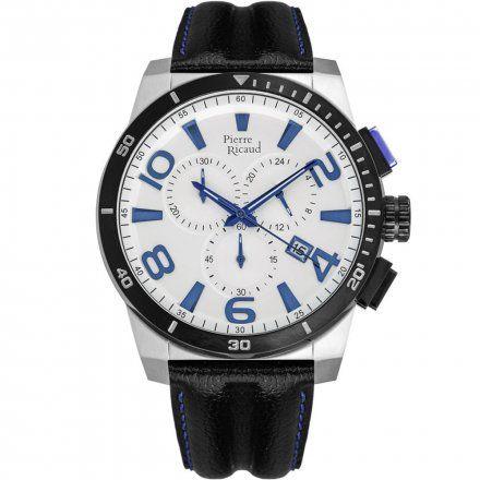 Pierre Ricaud P60016.Y2B3CH Zegarek Męski Niemiecka Jakość