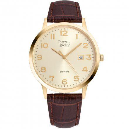 Pierre Ricaud P91022.1B21Q Zegarek Męski Niemiecka Jakość