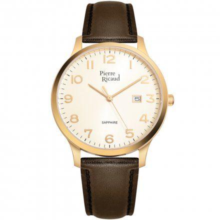 Pierre Ricaud P91028.1B21Q Zegarek Męski Niemiecka Jakość