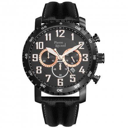 Pierre Ricaud P91081.B22RCH Zegarek Męski Niemiecka Jakość