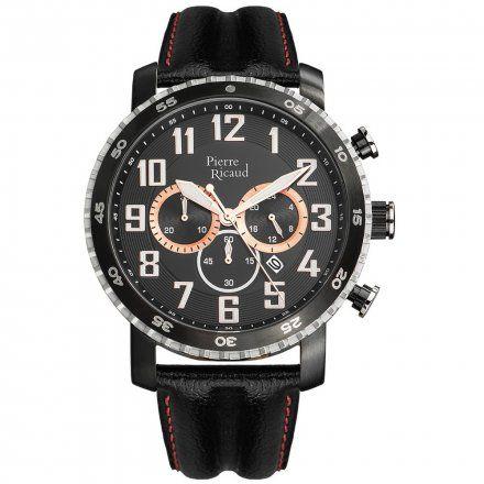 Pierre Ricaud P91081.Y22RCH Zegarek Męski Niemiecka Jakość