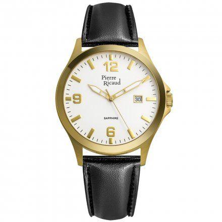 Pierre Ricaud P91085.1253Q Zegarek Męski Niemiecka Jakość