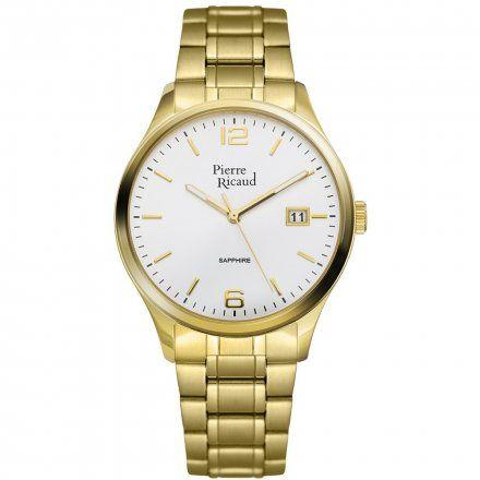 Pierre Ricaud P91086.1153Q Zegarek Męski Niemiecka Jakość