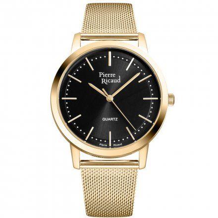 Pierre Ricaud P91091.1114Q Zegarek Męski Niemiecka Jakość