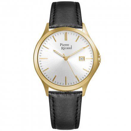 Pierre Ricaud P91096.1213Q Zegarek Męski Niemiecka Jakość