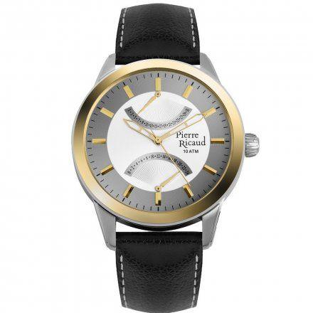 Pierre Ricaud P97011.2213Q Zegarek Męski Niemiecka Jakość
