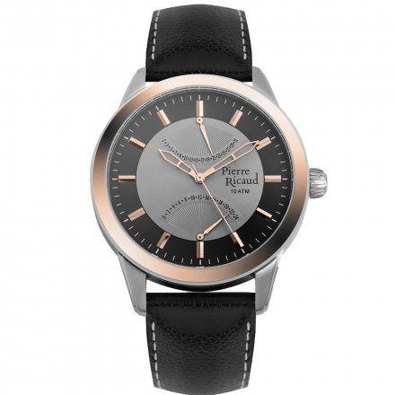 Pierre Ricaud P97011.R217Q Zegarek Męski Niemiecka Jakość