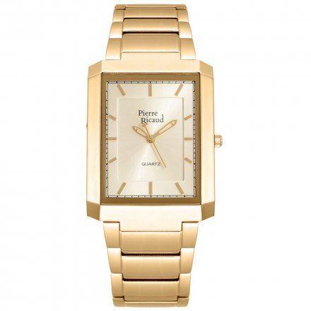 Pierre Ricaud P97014F.1111Q Zegarek Męski Niemiecka Jakość