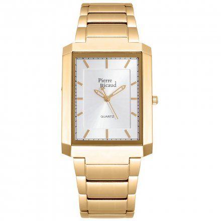 Pierre Ricaud P97014F.1113Q Zegarek Męski Niemiecka Jakość