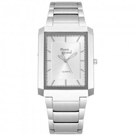 Pierre Ricaud P97014F.5113Q Zegarek Męski Niemiecka Jakość