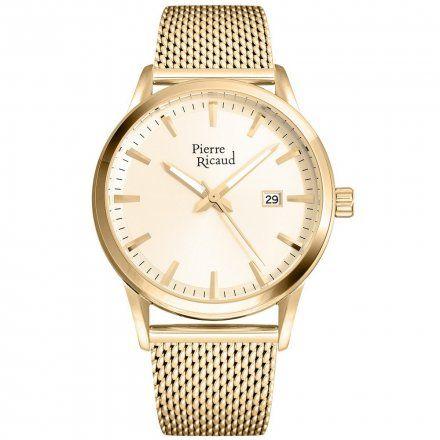 Pierre Ricaud P97201.1111Q Zegarek Męski Niemiecka Jakość