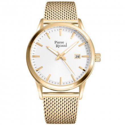 Pierre Ricaud P97201.1113Q Zegarek Męski Niemiecka Jakość