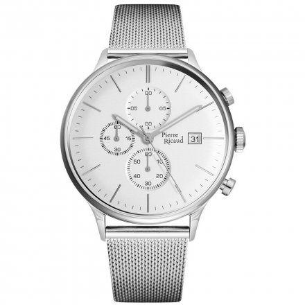 Pierre Ricaud P97206.5113CH Zegarek Męski Niemiecka Jakość