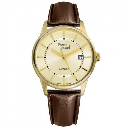 Pierre Ricaud P97214.1B11Q Zegarek Męski Niemiecka Jakość