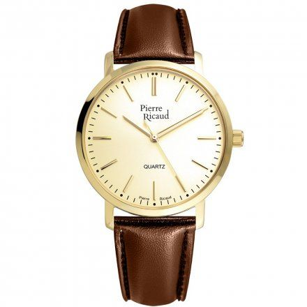 Pierre Ricaud P97215.1211Q Zegarek Męski Niemiecka Jakość