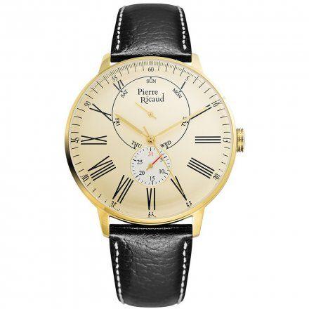 Pierre Ricaud P97219.1231QF Zegarek Męski Niemiecka Jakość