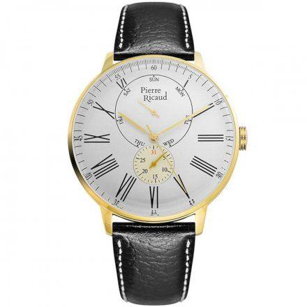 Pierre Ricaud P97219.1233QF Zegarek Męski Niemiecka Jakość