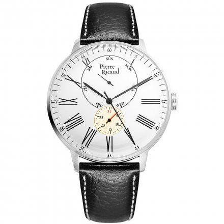 Pierre Ricaud P97219.5233QF Zegarek Męski Niemiecka Jakość