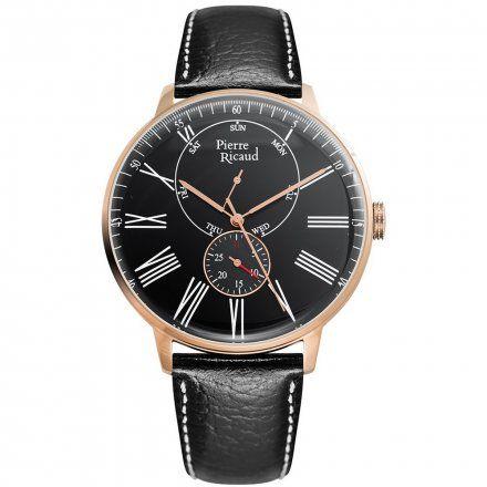 Pierre Ricaud P97219.9234QF Zegarek Męski Niemiecka Jakość