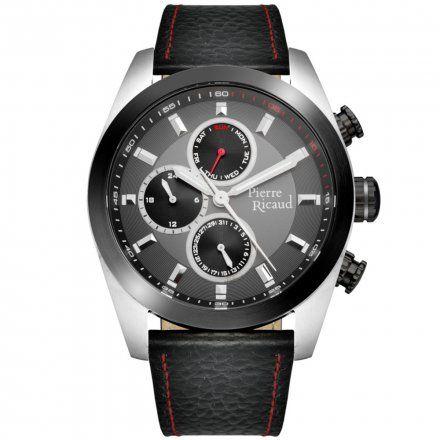 Pierre Ricaud P97223.Y217QF Zegarek Męski Niemiecka Jakość