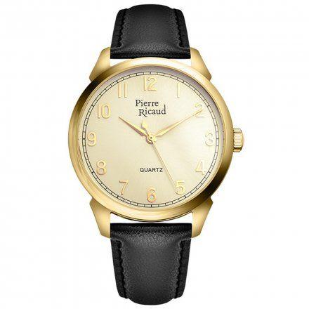 Pierre Ricaud P97228.1221Q Zegarek Męski Niemiecka Jakość