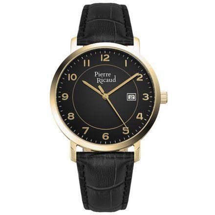 Pierre Ricaud P97229.1224Q Zegarek Męski Niemiecka Jakość
