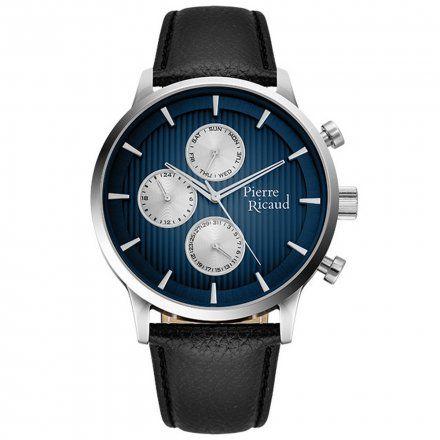 Pierre Ricaud P97230.5215QF Zegarek Męski Niemiecka Jakość
