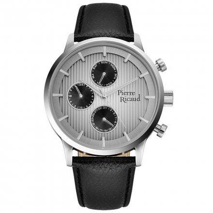 Pierre Ricaud P97230.5217QF Zegarek Męski Niemiecka Jakość