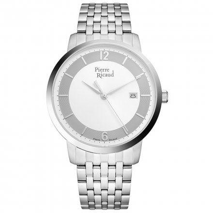 Pierre Ricaud P97247.5153Q Zegarek Męski Niemiecka Jakość