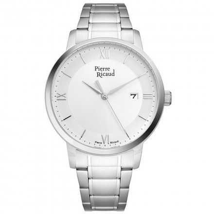 Pierre Ricaud P97239.5163Q Zegarek Męski Niemiecka Jakość