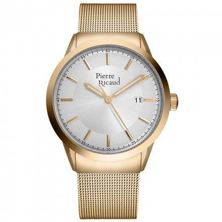 Pierre Ricaud P97250.1113Q Zegarek Męski Niemiecka Jakość