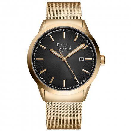 Pierre Ricaud P97250.1117Q Zegarek Męski Niemiecka Jakość