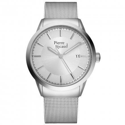 Pierre Ricaud P97250.5113Q Zegarek Męski Niemiecka Jakość