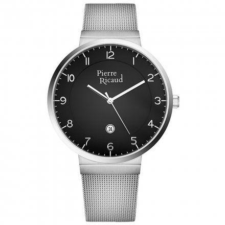 Pierre Ricaud P97253.5124Q Zegarek Męski Niemiecka Jakość