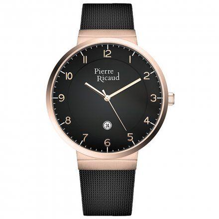 Pierre Ricaud P97253.K124Q Zegarek Męski Niemiecka Jakość