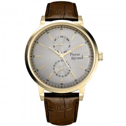 Pierre Ricaud P97256.1B17QF Zegarek Męski Niemiecka Jakość