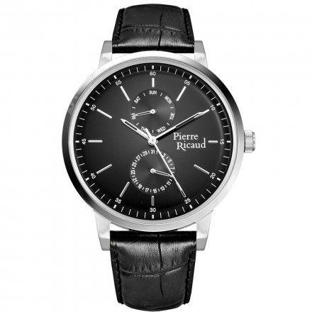 Pierre Ricaud P97256.5214QF Zegarek Męski Niemiecka Jakość