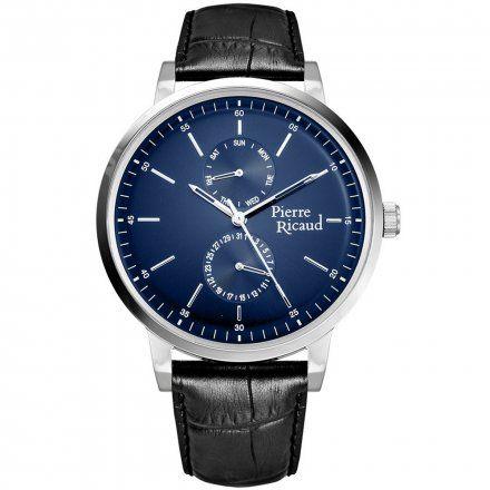 Pierre Ricaud P97256.5215QF Zegarek Męski Niemiecka Jakość