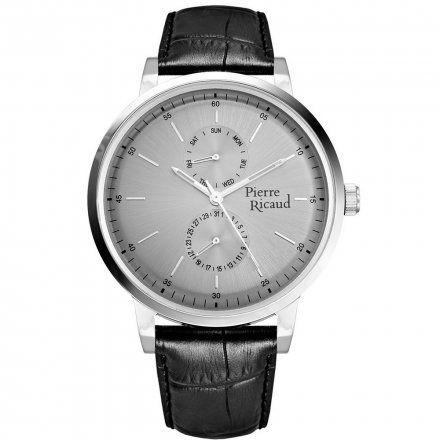 Pierre Ricaud P97256.5217QF Zegarek Męski Niemiecka Jakość