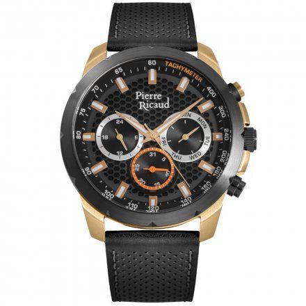 Pierre Ricaud P97257.M216QF Zegarek Męski Niemiecka Jakość