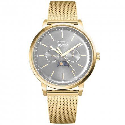 Pierre Ricaud P97258.1117QF Zegarek Męski Niemiecka Jakość