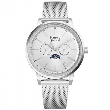 Pierre Ricaud P97258.5113QF Zegarek Męski Niemiecka Jakość