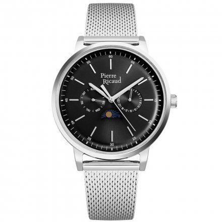 Pierre Ricaud P97258.5114QF Zegarek Męski Niemiecka Jakość