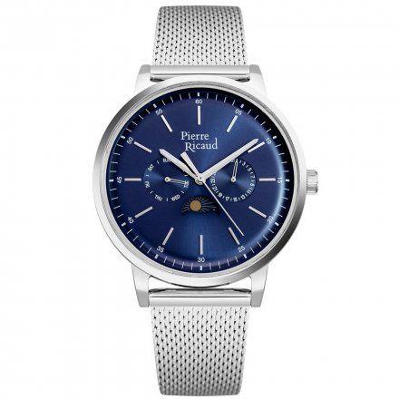 Pierre Ricaud P97258.5115QF Zegarek Męski Niemiecka Jakość