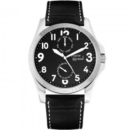Pierre Ricaud P91071.5224QF Zegarek Męski Niemiecka Jakość