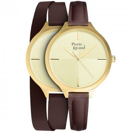 Pierre Ricaud P22005.1B11LQ + Pasek | ZESTAW