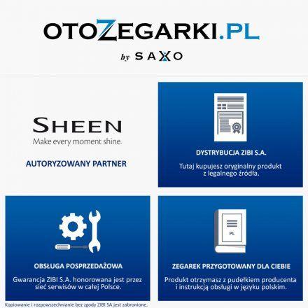 Zegarek Damski Casio Sheen SHE-3066PGL-4AUEF Model SHE 3066PGL 4AUEF