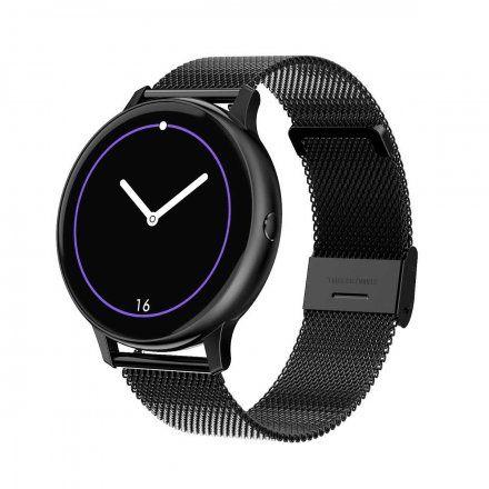 Smartwatch Pacific 09 Czarny Bransoletka + Czarny pasek