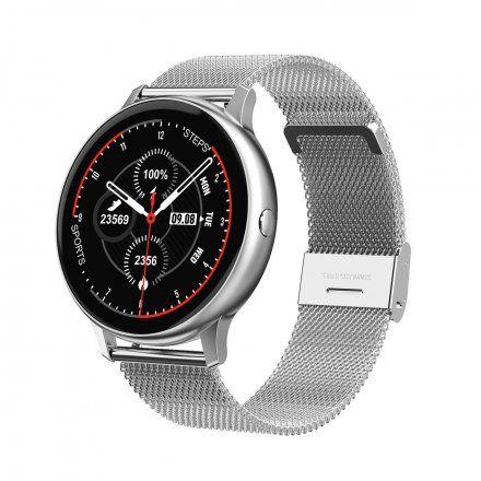 Smartwatch Pacific 09 Srebrny Bransoletka