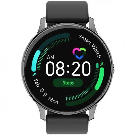 Smartwatch Pacific 09 Czarny Silikon